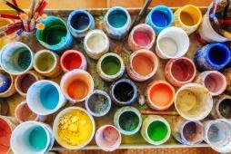 paint jars